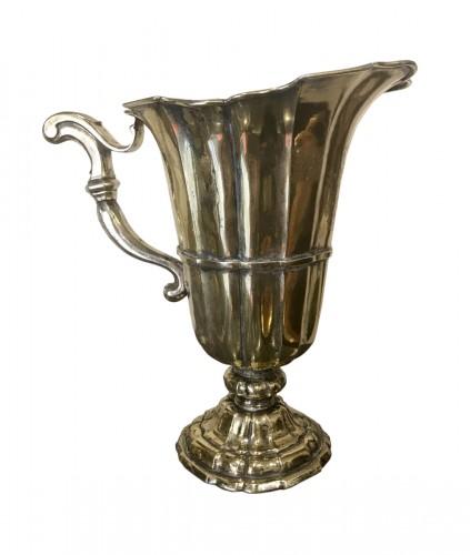 Hanap in silver vermeil, Germany Aachen, 1738