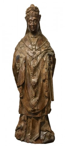 Holy Pope, Brabant South Netherlands, around 1500