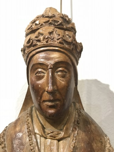 Holy Pope, Brabant South Netherlands, around 1500 -