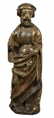 Wooden sculpture, lower Rhine late 15th - early 16th century