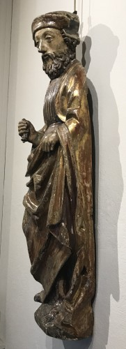 Wooden sculpture, lower Rhine late 15th - early 16th century - Religious Antiques Style
