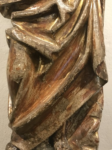 16th century - Wooden sculpture, lower Rhine late 15th - early 16th century