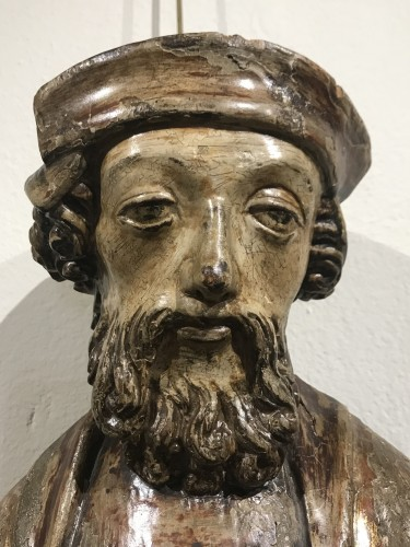Wooden sculpture, lower Rhine late 15th - early 16th century -