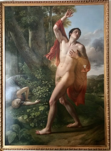 Cephalus and Procris - Neoclassical School circa 1820 - Paintings & Drawings Style