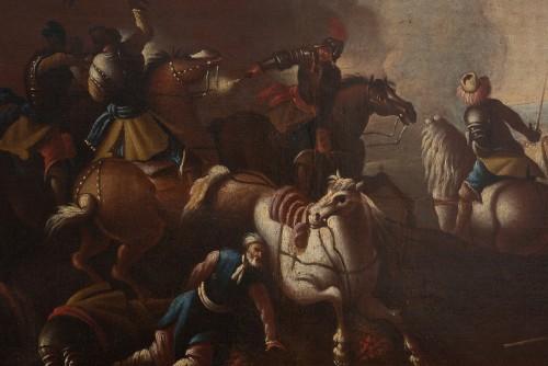 Paintings & Drawings  - Battle scene, Italian school of the 17th century