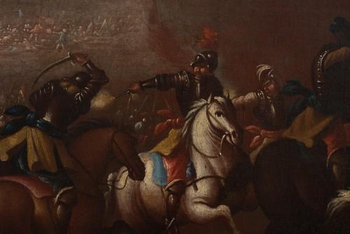 Battle scene, Italian school of the 17th century -
