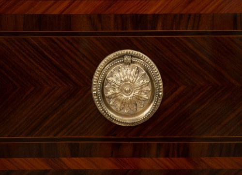 Louis XVI Period Commode Naples 18th Century. - Furniture Style Louis XVI