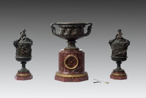 Antiquités - French Napoleon III Fireplace Set
