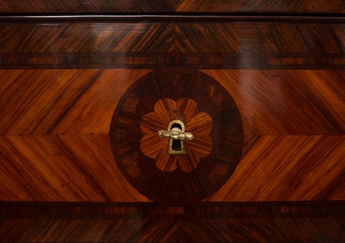 18th Century Naples Three Drawer Dresser - Furniture Style Louis XIV