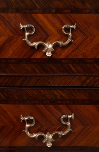 18th century - 18th Century Naples Three Drawer Dresser