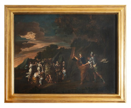 The Adoration of the Golden Calf - 18th Century Italy