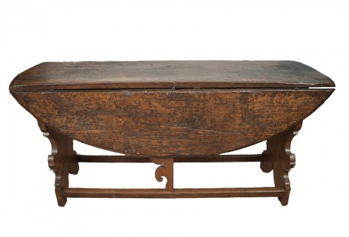 Old Italian Table From The 17th Century.