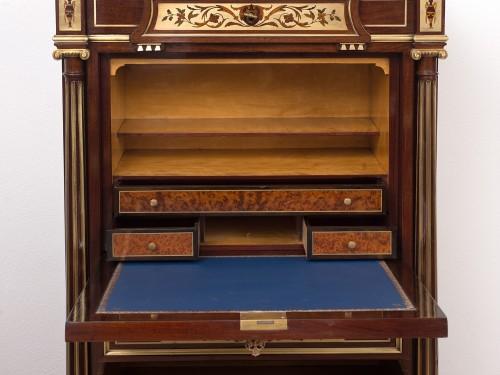Furniture  - French Secretaries Napoleon III In Mahogany