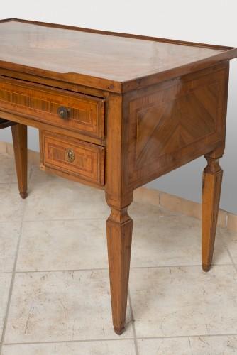 Small Office Former Louis XVI Neapolitan (italy) Epoque XVIIIth Century. - Furniture Style Louis XVI