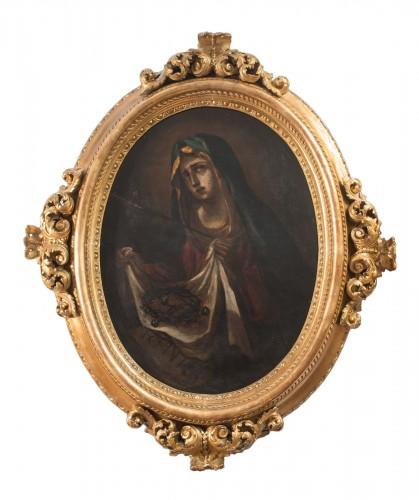Lady of Sorrows -  17th Century Naples