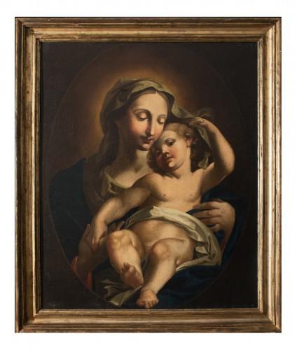 Virgin and Child - Naples 17th Century
