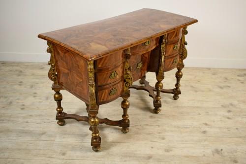 Furniture  - 17th century North italian Mazarin desk