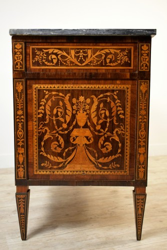 Neoclassical chest of drawers, Italy - Louis XVI