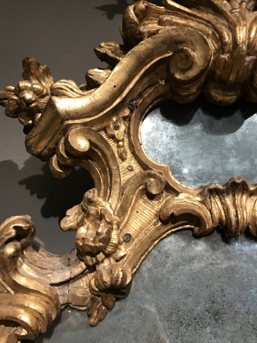 Pair of important mirrors Turin -