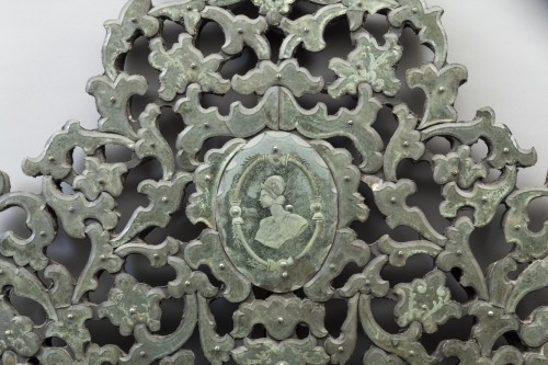 Mirrors, Trumeau  - Pair of large Venetian mirrors, 18th century