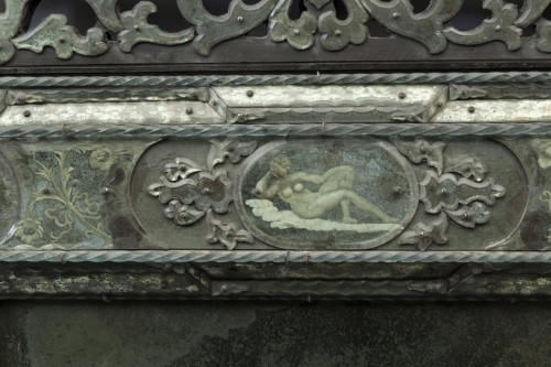 Pair of large Venetian mirrors, 18th century -