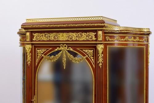 Napoléon III - 19th century, Mahogany and Gilt Bronze French Showcase