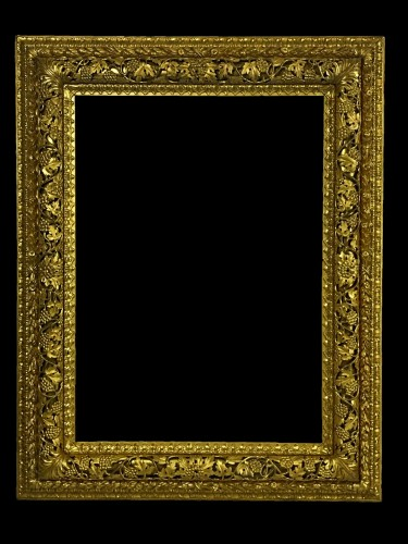 19th Century, finely carved and gilded wood venetian mirror  - Mirrors, Trumeau Style
