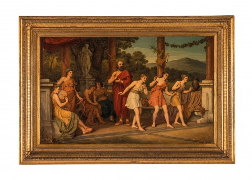 John Raphael Smith (1752-1812) -School of Dance in Ancient Greece