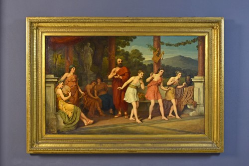 John Raphael Smith (1752-1812) -Dance in Ancient Greece - Paintings & Drawings Style
