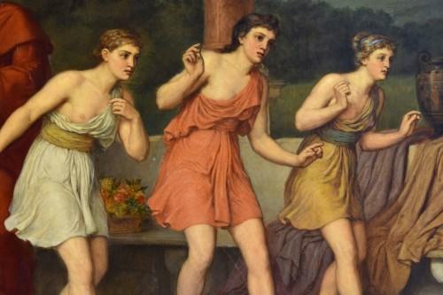 18th century - John Raphael Smith (1752-1812) -Dance in Ancient Greece