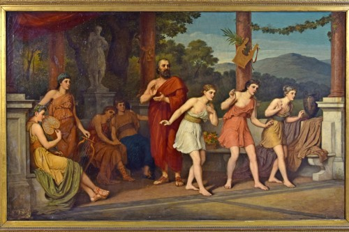 18th century - John Raphael Smith (1752-1812) -Dance in Ancient Greece