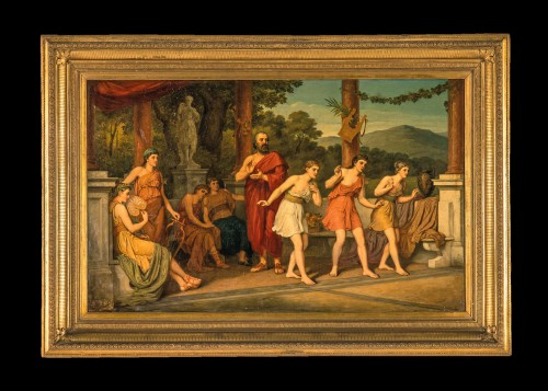 - John Raphael Smith (1752-1812) -Dance in Ancient Greece