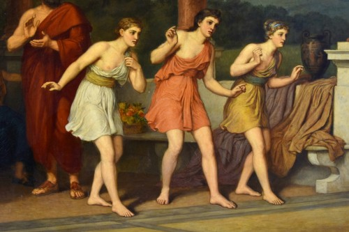 Antiquités - John Raphael Smith (1752-1812) -Dance in Ancient Greece