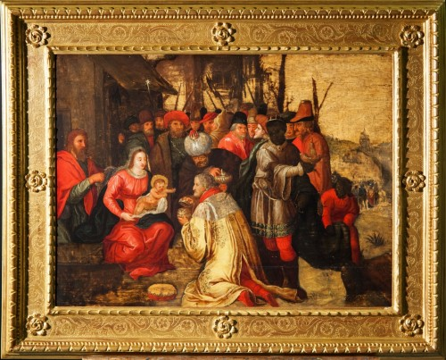 The Adoration of the Magi - 17th Cent. Flemish school