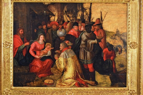 The Adoration of the Magi - 17th Cent. Flemish school -