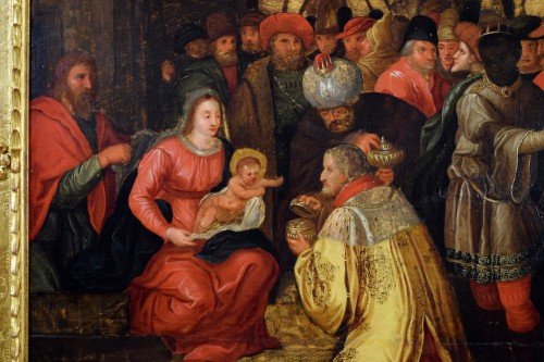 - The Adoration of the Magi - 17th Cent. Flemish school
