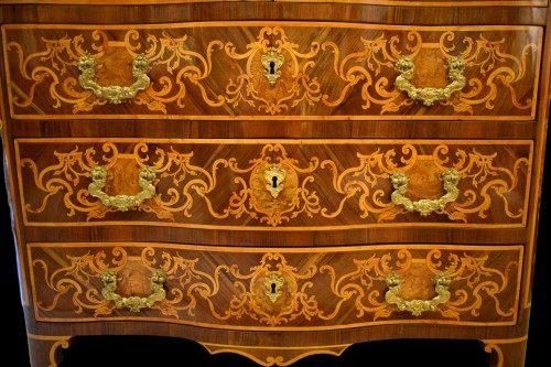 Antiquités - 18th Century, Italian Inlaid Cest of Drawers