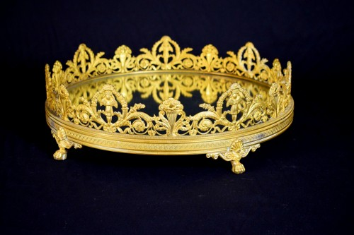 19th Century, France gilt bronze centerpiece - Decorative Objects Style Restauration - Charles X