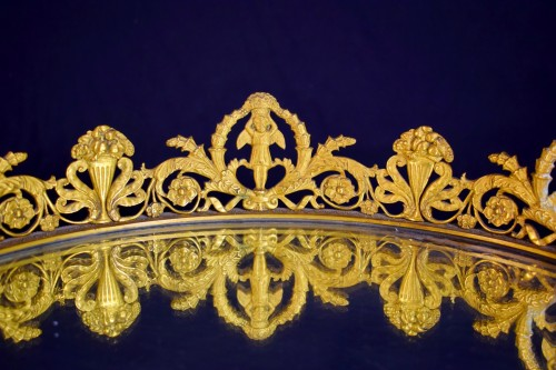 Antiquités - 19th Century, France gilt bronze centerpiece