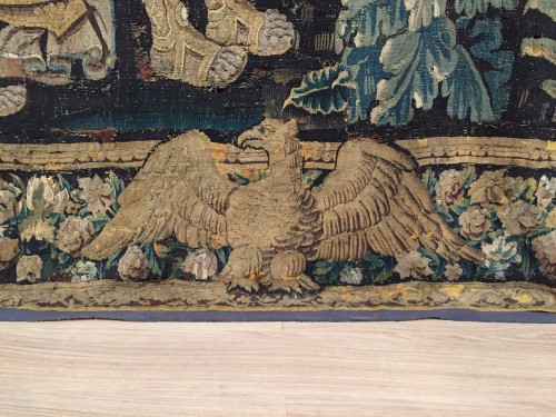 16th century, Flemish Storied Wool Tapestry  -