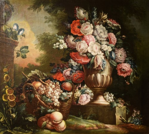 Paintings & Drawings  - 18th Century, Pair of Still Lifes by Pietro Francesco Gambone