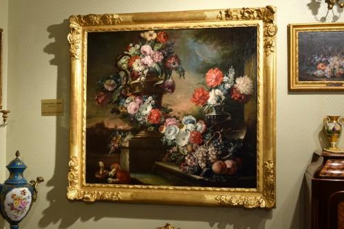 18th century - 18th Century, Pair of Still Lifes by Pietro Francesco Gambone