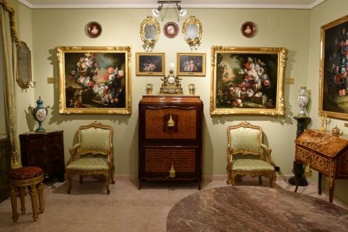 18th Century, Pair of Still Lifes by Pietro Francesco Gambone - French Regence