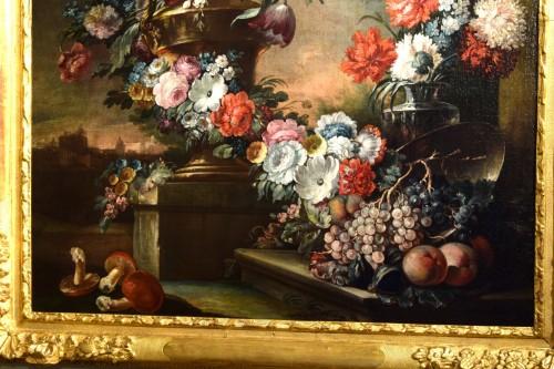 French Regence - 18th Century, Pair of Still Lifes by Pietro Francesco Gambone
