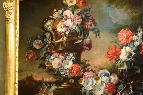 Antiquités - 18th Century, Pair of Still Lifes by Pietro Francesco Gambone
