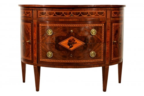 18th Century, Italian chest of drawers by Ignazio and Luigi Ravelli
