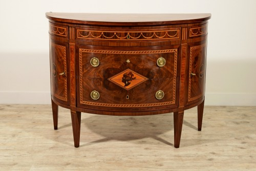 18th Century, Italian chest of drawers by Ignazio and Luigi Ravelli  - Furniture Style Louis XVI