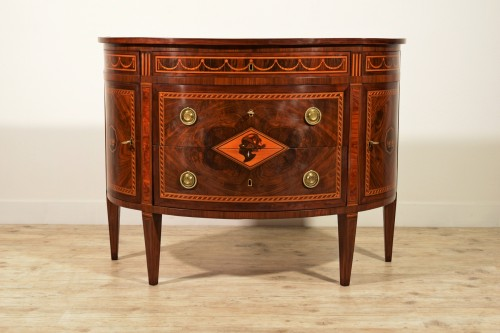 Furniture  - 18th Century, Italian chest of drawers by Ignazio and Luigi Ravelli