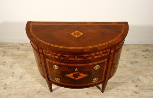 18th Century, Italian chest of drawers by Ignazio and Luigi Ravelli  -