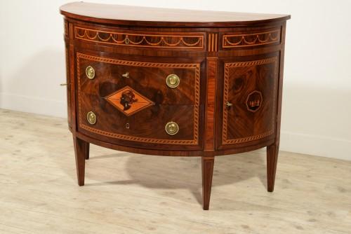18th century - 18th Century, Italian chest of drawers by Ignazio and Luigi Ravelli